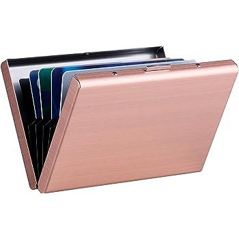 Credit Card Holder Wallets Doodle leaves pink for Ladies Girls//Gift Box