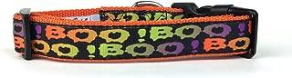 Midlee Boo! Halloween Nylon Ribbon Dog Collar