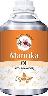 Crysalis Manuka Oil (Leptospermum Scoparium) 100% Natural Pure Undiluted Uncut Essential Oil 5000ML