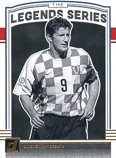 2018-19 Donruss Legends Series Soccer #8 Davor Suker Croatia Official Panini Futbol 2018/2019 Trading Card