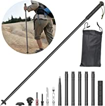 Voraca Collapsible Trekking Poles Lightweight Aluminum Adjustable for Outdoor Hiking,On Foot, Camping, The Forest, The Jungle, Walking Sticks Multi Function