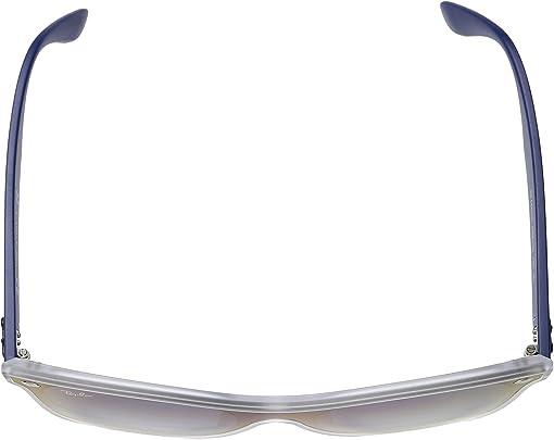 Matte Transparent/Light Blue Gradient Mirror