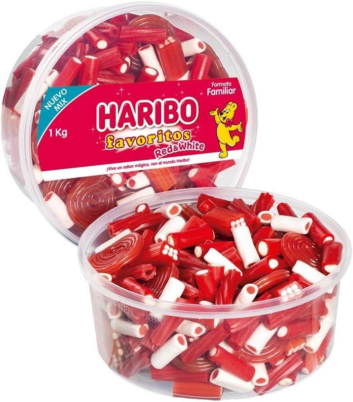 HARIBO Red & White, 1 X 1.00 Kg