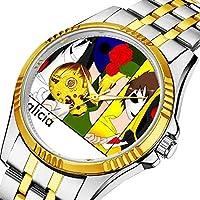 男性の人格ダイヤル&クリアウィンドウのためのカジュアルメンズ自動機械式時計高級ブランドカジュアルスポーツウォッチ 212. creepypasta watchitem