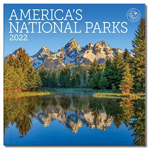 America's National Parks Mini Wall Calendar 2022, 7' x 7'