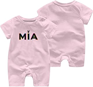 Cotton Baby Boy Jumpsuit Rompers for Baby Girls with Bad Bunny MIA