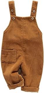 Toddler Boy Girl Soft Corduroy Suspender Pants Kids Overalls Loose Retro …