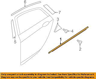 Genuine Hyundai 83210-2D000 Door Belt Weatherstrip Assembly