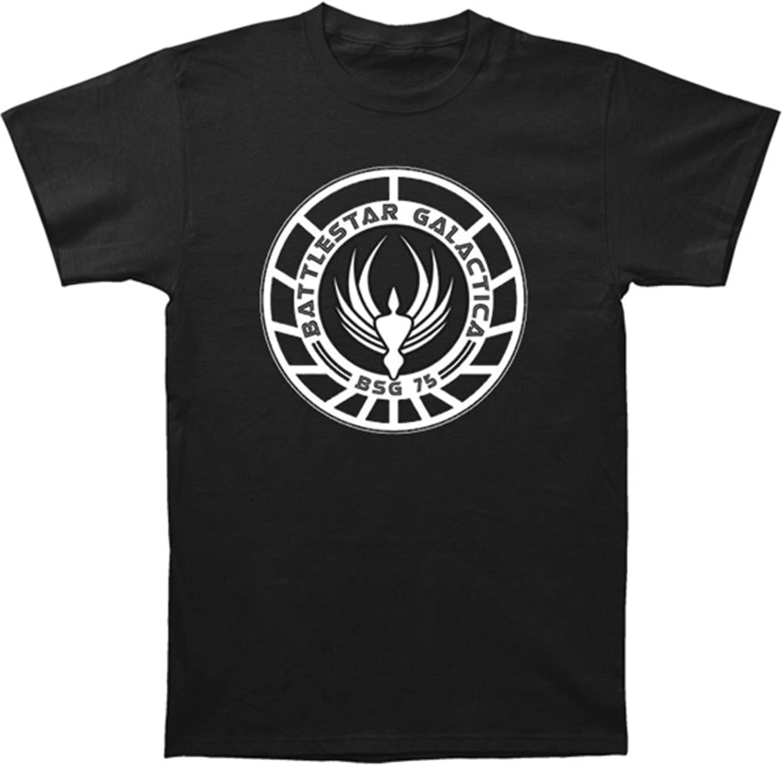 Wicked Battlestar Galactica Badge T-Shirt