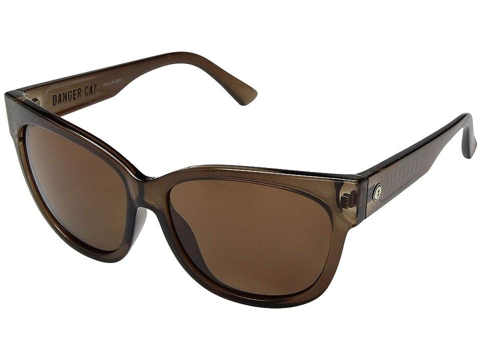 Electric Eyewear Danger Cat Polarized (Mono Bronze/OHM Polarized Bronze) Fashion Sunglasses