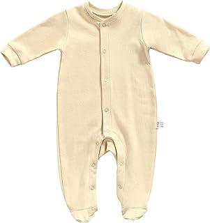 رضيع طفل الفتيات أولاد فوتيز كم طويل صلب حللا مولود جديد غطاء القدم لينة فووفيتس (Color : Beige, Kid Size : Newborn)
