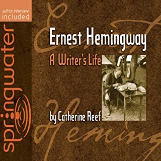 Ernest Hemingway     A Writer's Life              By:                                                                                                                                 Catherine Reef                               Narrated by:                                                                                                                                 Jill Shellabarger                      Length: 4 hrs     1 rating     Overall 5.0