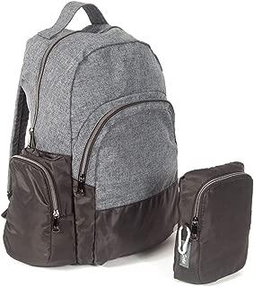 Lug Echo Packable Backpack, Heather Grey Backpack