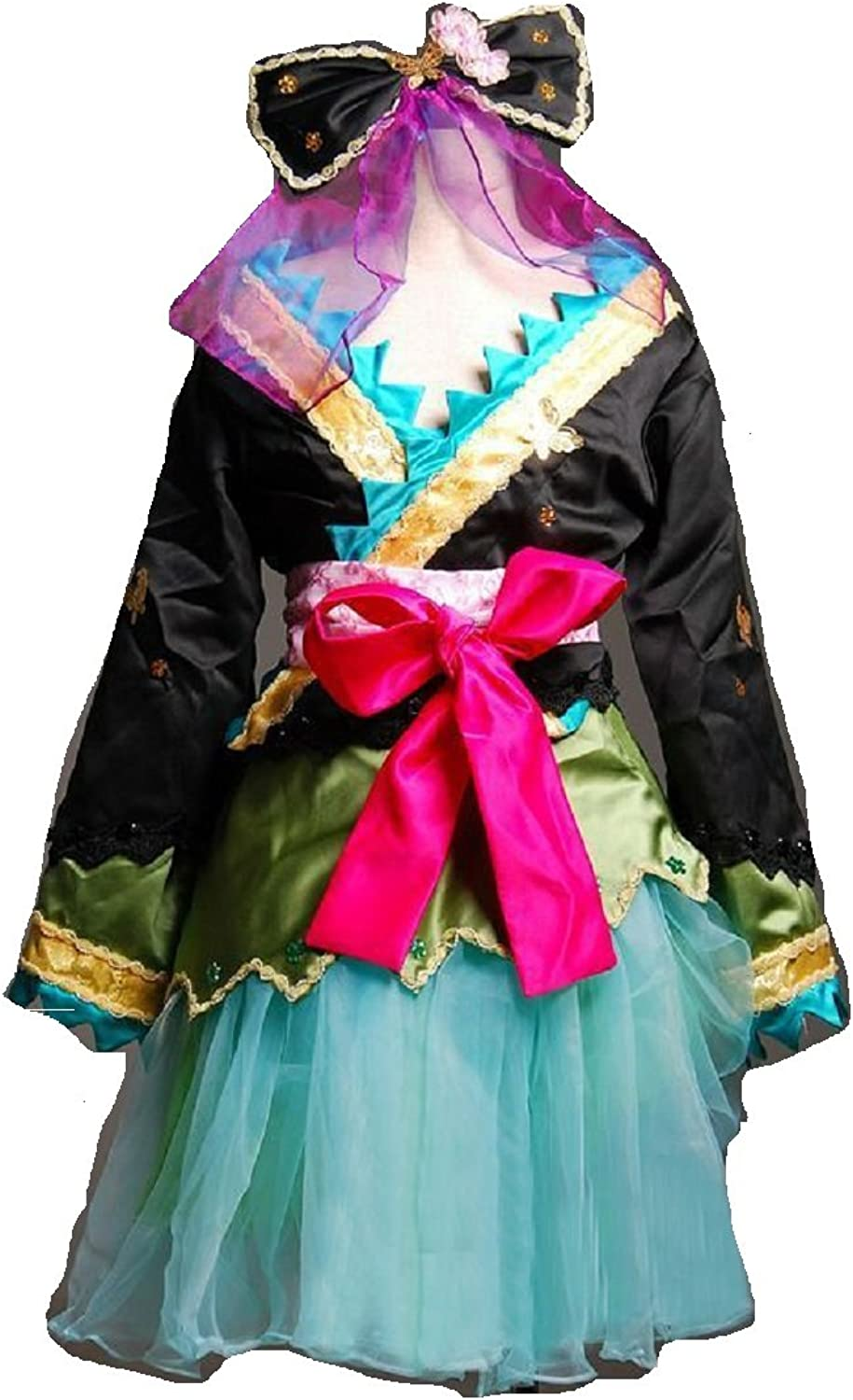 Vocaloid Hatsune Miku Project DIVA 2nd Luka cosplay costume