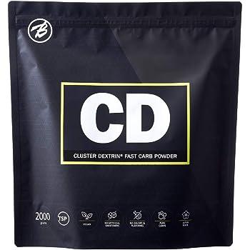 バルクスポーツ カーボパウダー クラスターデキストリン CD 2kg(2,200mg x 90食分)ノンフレーバー