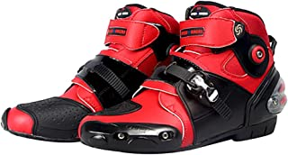 Best red motorcycle boots Reviews