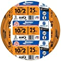 Southwire 28829021 10/2WG NMB Wire 25-Foot