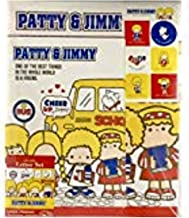 Sanrio Patty & Jimmy Letter Set 12 Writing Paper + 6 Envelopes + 7 Stickers Stationary Japan (School life)