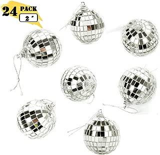 Bright Reflective Mirror Disco Balls | 24 Pack 2