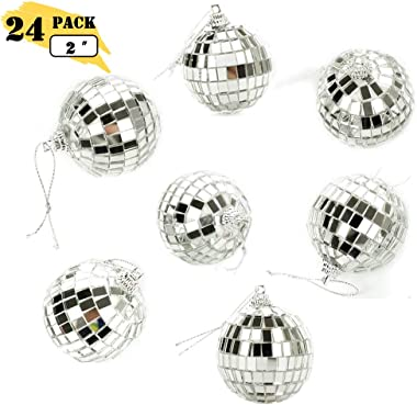 """Bright Reflective Mirror Disco Balls 