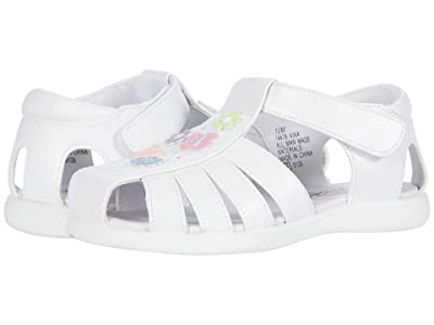 Rachel Kids Nina (Toddler) (White/Multi) Girl