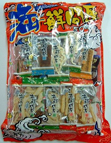 海鮮問屋 320g(おつまみ詰め合わせパック ナッツ 柿の種 ソースカツ するめ 珍味 お魚)
