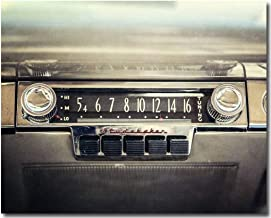 Vintage Studebaker Car Radio Fine Art Photograph. Modern Industrial Office Decor, Gifts for Men. 8x10, 11x14, or 16x20.