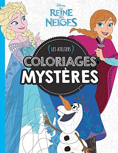 Reine des Neiges, Coloriages Mystères, ATELIERS DISNEY