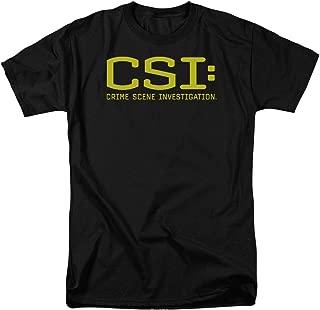 Csi Logo Unisex Adult T Shirt for Men and Women