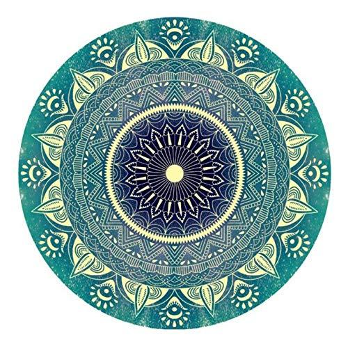 MTDSWHNDQRJ 5D Psychedelische Mandala Diamond Painting DIY diamantschilderij kristal strasssteentjes borduurwerk schilderijen voor Home Decor Quadratbohrer 20x20CM / 7.9x7.9 IN C02