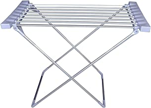 Mukhivala Fresh Aluminium Electric Clothes/Towel Dual Purpose Dryer Rack Installed Foldable Space Saving Garment Rack Heavy Duty