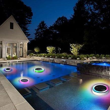 Amazon.fr : lampe solaire pour piscine : Luminaires & Eclairage