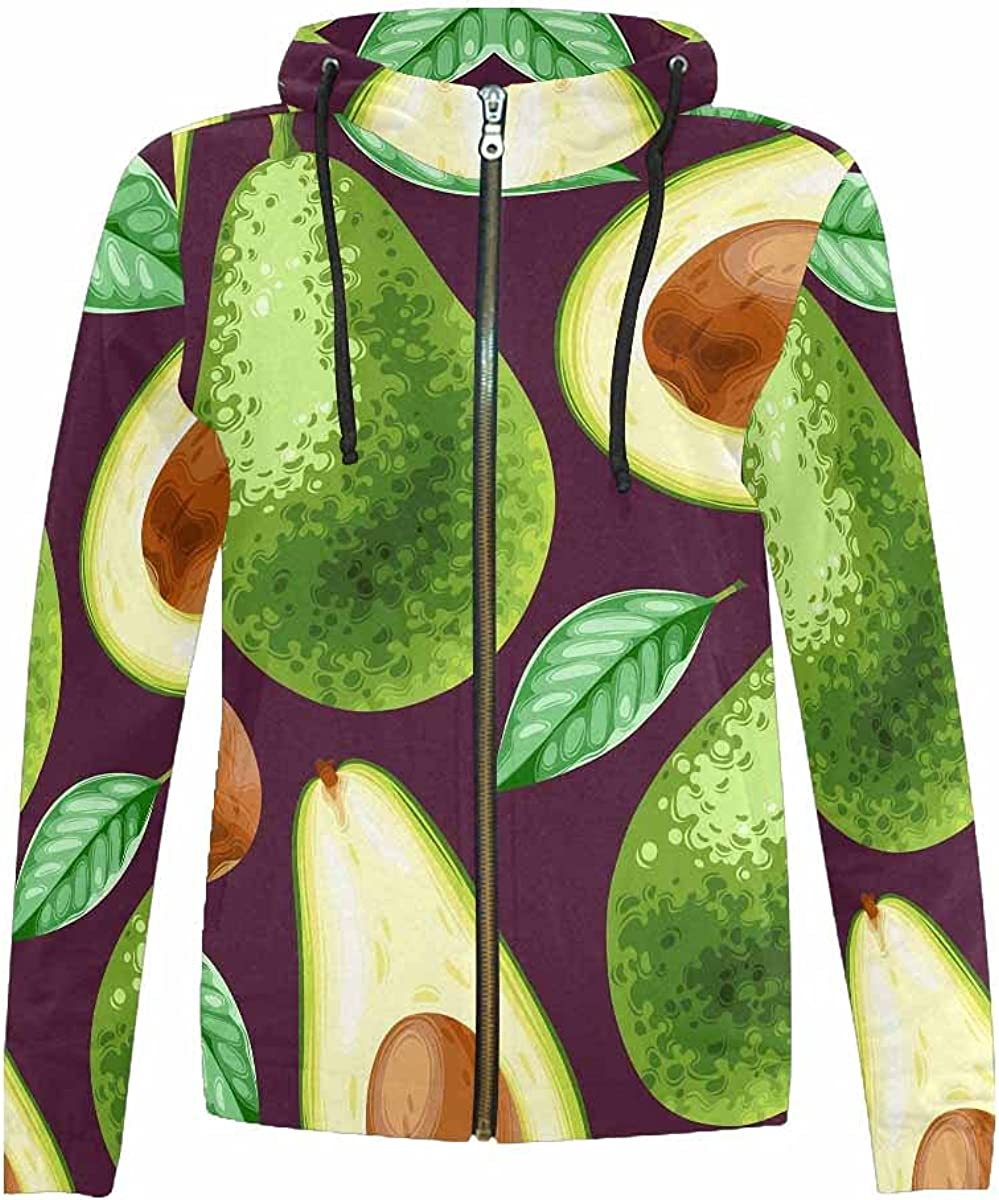 InterestPrint Pink Flamingos Challenge the lowest price and Cactus Sweat Zip-Up Japan's largest assortment Kids Hooded