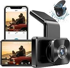 AUTOWOEL Dashcam Auto Vorne Hinten mit WiFi und GPS, Auto-Elektronik mit 1080P FHD DVR..