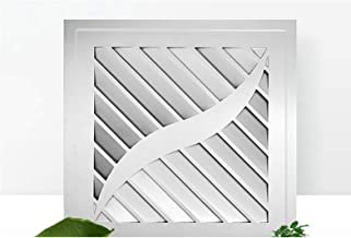 ZSQAW Silence Ventilating Strong Exhaust Extractor Fan for Window Wall Bathroom Toilet Kitchen Mounted Wall Fan