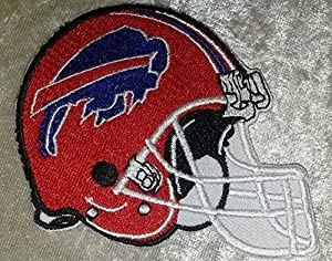 Iron On Embroidered Patch Buffalo Bills NFL Sports Team 3.5 in