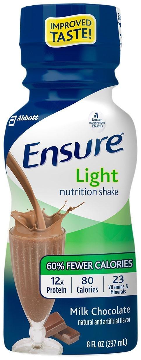 Ensure Virginia Beach Mall Light Nutrition Shake Milk 6 Chocolate Max 74% OFF PK -