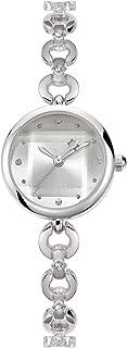 NUOVO Reloj de pulsera de cuarzo para mujer con esfera pequeña, reloj de pulsera de diamantes de imitación para mujer, ele...