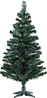 Urban Festivities 6 feet Artificial Christmas Six feet Tree Xmas Tree Green with Solid Legs, Perfect for Christmas Decorat...