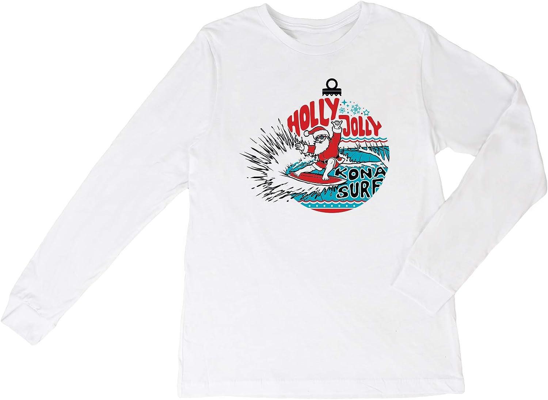 KONA SURF CO. Surfs Up Santa Boys LS Shirt