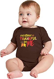 HAASE UNLIMITED Everyone is Thankful for Me - Funny Cute Bodysuit