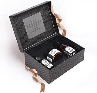 The Man Company Beard Care Kit | Beard Growth Oil (30ml), Beard Hair Wash (100ml), Beard Wax (50gm) | Almond & Thyme Natur...