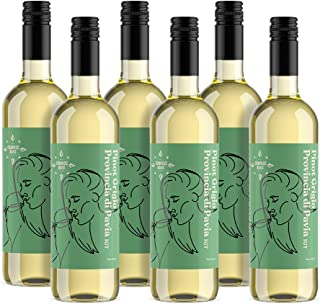 Amazon-Marke - Compass Road Weißwein Pinot Grigio, Italien 6x0,75L