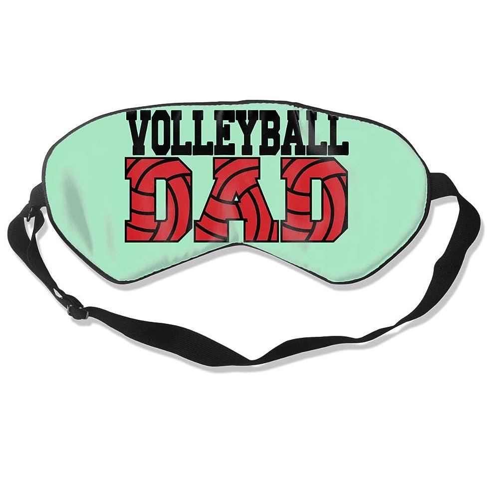 Sleep Mask Volleyball Dad Eye Cover Blackout Eye Masks,Breathable Blindfold