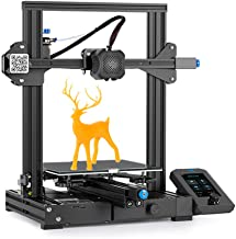 Creality Ender 3 V2 Upgrade 3D Printer with Meanwell Power Supply, Silent Motherboard, Carborundum Glass Platform and Resu...