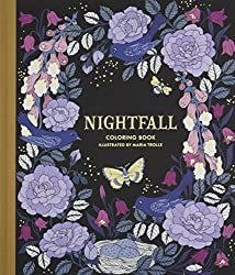 nightfall maria trolle coloring book sweden