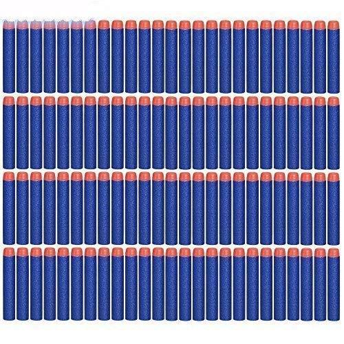 Darts Pfeile für N-Strike, 7.2cm Refill Bullets Pfeile Nachfüllpack Darts für N-Strike Elite Blasters Spielzeugpistole 100 Stück