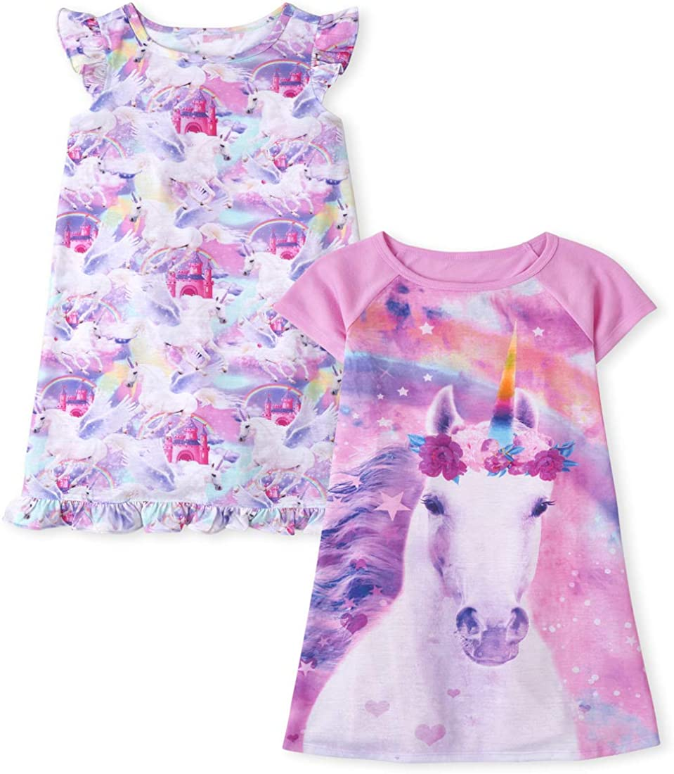 The Children's Place Girls' Sleepwear, Pack of Two