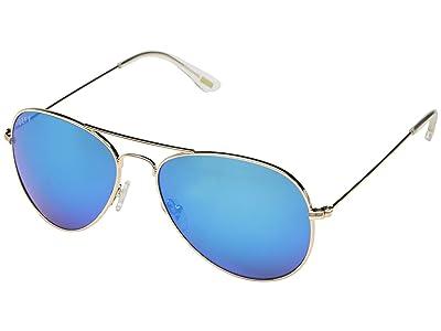 DIFF Eyewear Cruz (Gold/Blue) Fashion Sunglasses