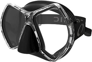 Oceanic Cyanea Diving Mask, Black/Titanium